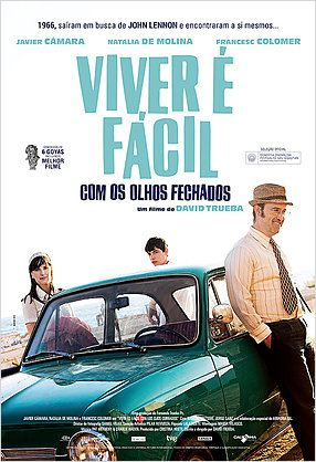 Poster-de-VIVER-É-FÁCIL-COM-OS-OLHOS-FECHADOS-Vivir-es-Fácil-con-los-Ojos-Cerrados-Espanha-2013
